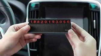 Vietstore- Bảng số điện thoại chủ nhân xe ô tô hãng Baseus - Hotline : 0977220066