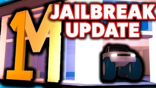CRAZY NEW JAILBREAK UPDATE! (Monster Truck, Ferrari, Mustang, in Roblox)