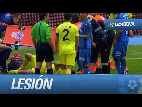 Espeluznante lesión del defensor de la Selección