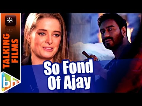 Erika Kaar's FIRST EVER Interaction About Shivaay | Ajay Devgn