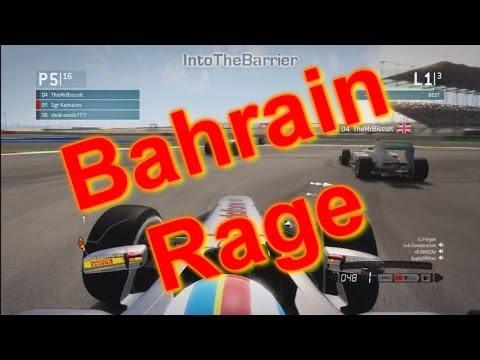 F1 Game 2013 - Bahrain Rage!