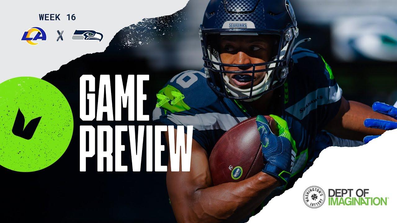 2020 Week 16 Seahawks Vs Rams Preview Youtube