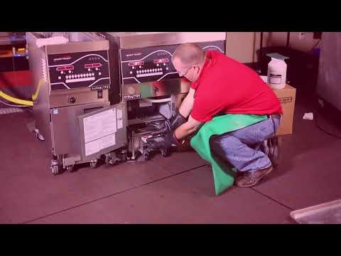 Evolution Elite Open Fryer Clean Out Procedure