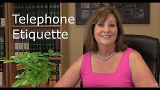 Telephone Etiquette - Personal vs. Professional