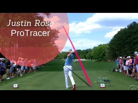 AMAZING Justin Rose ProTracer Compilation