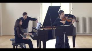 Duo Primavera Beethoven sonata op.30/3 Allegro assai