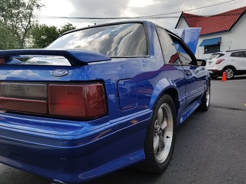 BURN OUTS! 1989 Ford Mustang Burn out fun 7-15-18