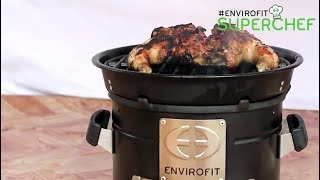 Video Butterfly Grilled Chicken - Envirofit SuperChef with Chef Ali Mandhry and the SuperSaver Charcoal download MP3, 3GP, MP4, WEBM, AVI, FLV November 2017