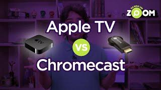 DANDO UM ZOOM #1 | Apple TV vs Chromecast