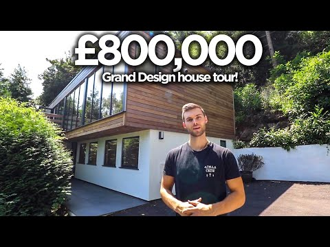 Inside A Grand Designs Style £800,000 Modern UK House