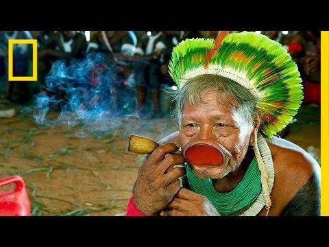 Martin Schoeller: Kayapo Warrior Tribe | Nat Geo Live