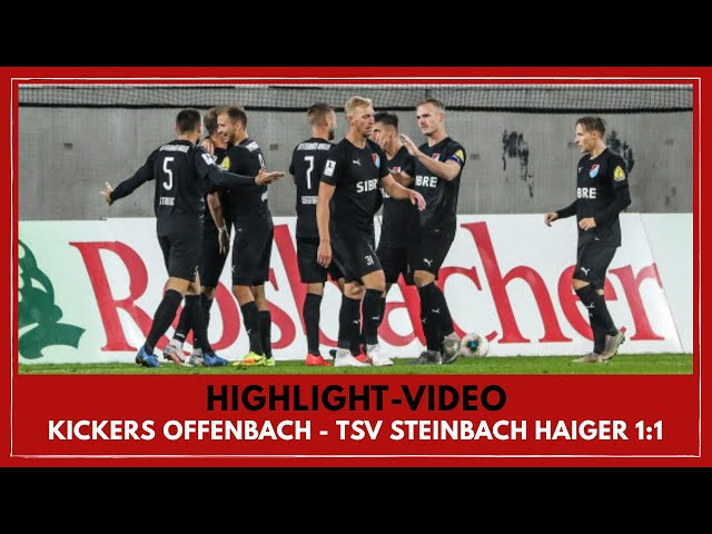 Kickers Offenbach - TSV Steinbach Haiger 1:1 (Regionalliga Südwest I #OFCTSV )
