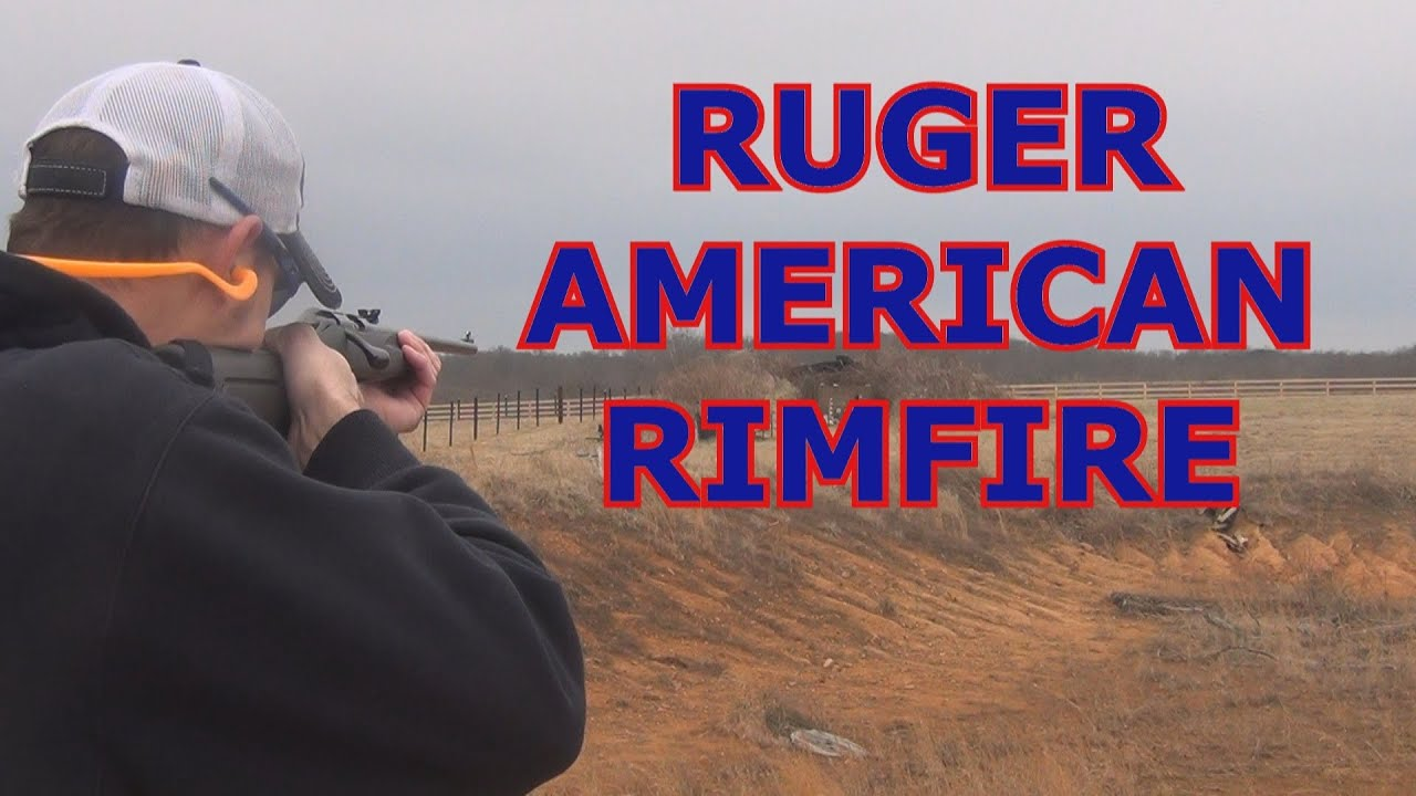 Ruger American Rimfire Stainless Threaded 18
