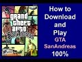 How to Download and install GTA San Andreas Game 100% Work Urdu/Hindi
