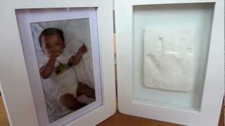 Baby Casting Imprint Kits & Photo Frame | Snuggle Collection | Baby Gifts | Wholesale Giftware