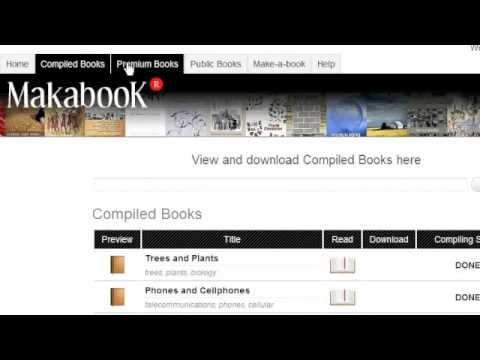 Browse all the Makabooks