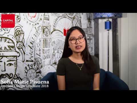 Sofia Marie Pisuena, Interior Design Graduate 2018