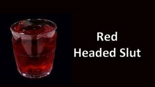Red Headed Slut Shot Drink Recipe