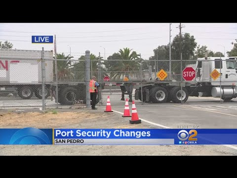 New Security Measures Put In Place At Port Of Los Angeles