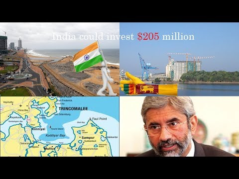 India to help develop Colombo, Trincomalee Ports Foreign secretary S Jaishankar