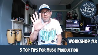 SCOTT - 5 Top Tips For Music Production