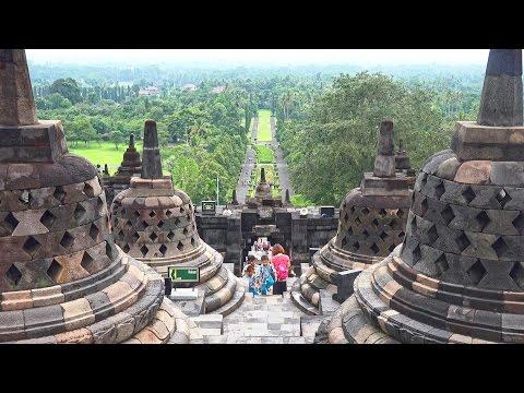 Download Borobudur, Indonesia in 4K Ultra HD Mp4 baru