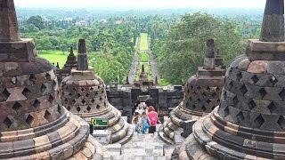 Borobudur, Indonesia in 4K (Ultra HD)