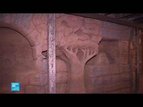 فنانون سوريون يحولون -أنفاق الموت- في جوبر إلى أعمال فنية  - 17:54-2018 / 9 / 21
