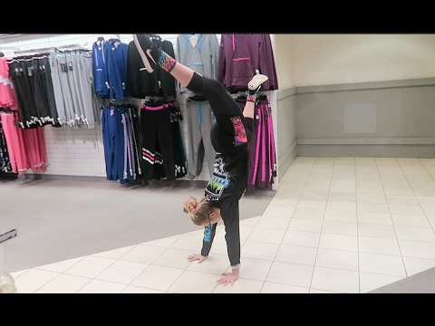 Handstands and Dancing in the Store!