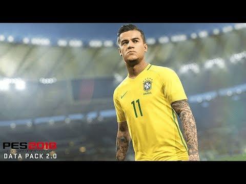 PES 2018 | TUDO SOBRE A DLC 2.0!! COUTINHO COM TATUAGEM E NOVOS ESTÁDIOS!!