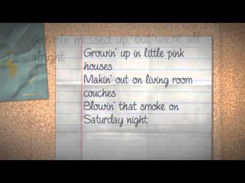 American Kids (lyrics) Kenny Chesney