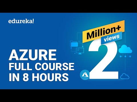 Azure Full Course - Learn Microsoft Azure in 8 Hours | Azure Tutorial For Beginners