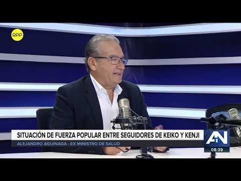 """Alejandro Aguinaga: No quisiera criticar al fujimorismo """"porque están en el ocaso"""""""