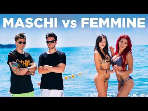 MASCHI VS FEMMINE AL MARE - iPantellas