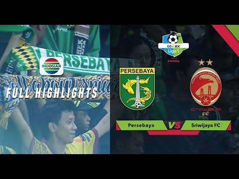 PERSEBAYA (1) vs SRIWIJAYA FC (1) - Full Highlights | Go-Jek Liga 1 bersama Bukalapak