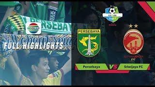 PERSEBAYA (1) vs SRIWIJAYA FC (1) - Full Highlight  | Go-Jek Liga 1 bersama Bukalapak