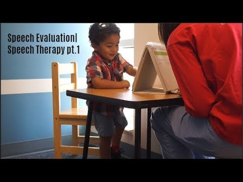 Toddler Speech Evaluation| Our Speech Therapy Journey