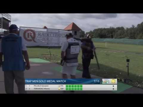 European Championship 2015, Maribor, Slovenia – Trap Men