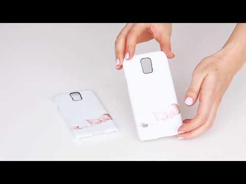 Foto auf Samsung Handyhülle