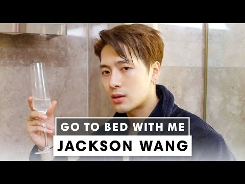 Jackson Wang's Nighttime Skincare Routine | Go To Bed With Me | Harper's BAZAAR