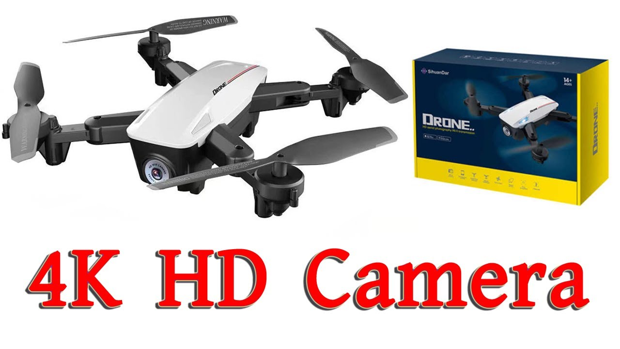 RS537 RC Drones Quadcopter With 4K Cameras WiFi Foldable Drones Double Cameras Drone! Water Prices