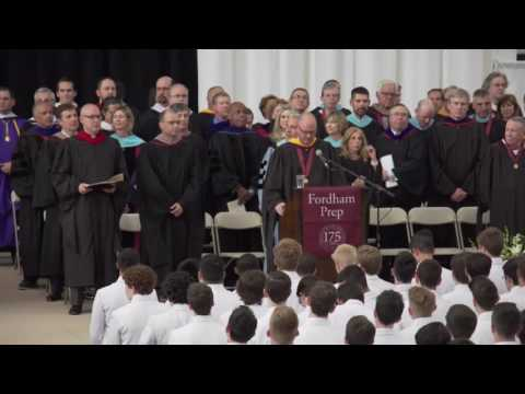 Fordham Preparatory School Live Stream of Graduation 2016