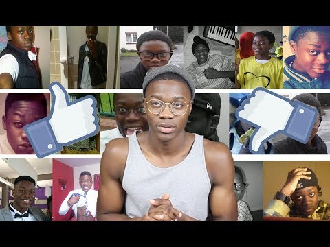 REACTING TO OLD FACEBOOK PICTURES !!!