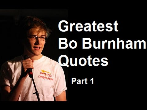 Greatest Bo Burnham Quotes | Part 1