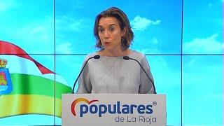 """Gamarra pide a Sánchez """"luz y taquígrafos"""" ante la reunión con ERC"""