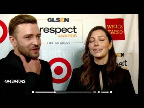 Justin Timberlake and Jessica Biel Interview at GLSEN 2015