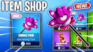 CUDDLE PAW HARVESTING TOOL! Fortnite Item Shop! Daily & Featured Items! (Feb 14th/Feb 15th)