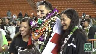 Hawaii Football Senior Night Highlights 11-25-17