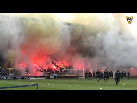 Derbykoorts in Breda bij laatste training NAC - VOETBAL INSIDE