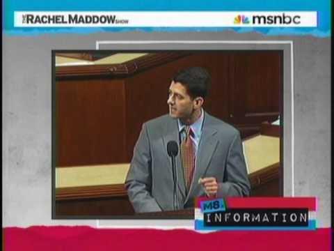 Rachel Maddow On Paul Ryan Wanting To Kill Medicare